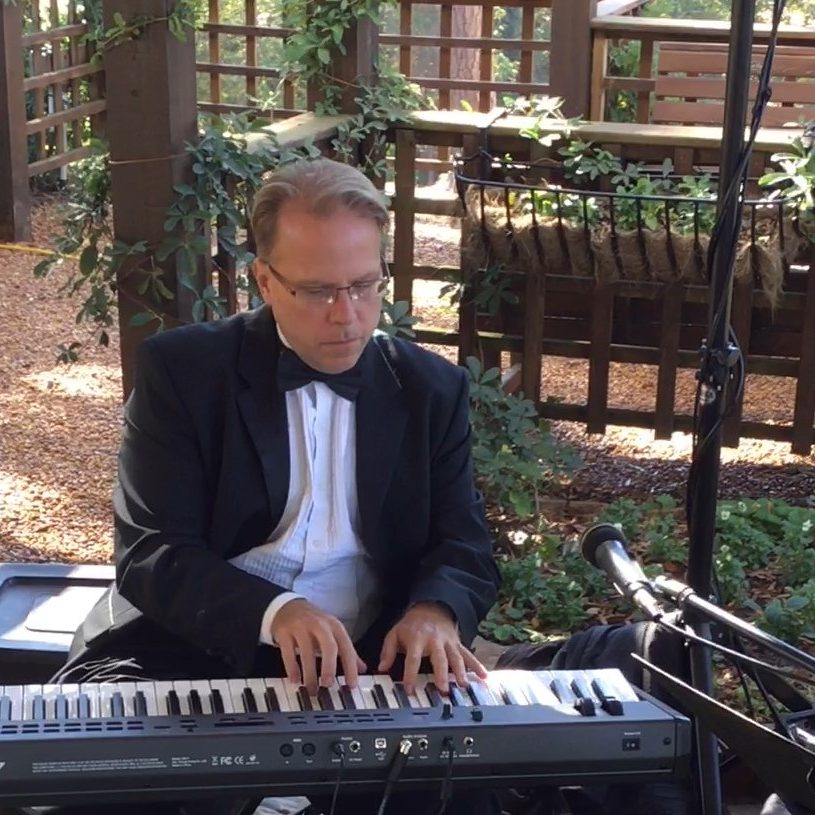 Kim Williams of Atlanta Jazz Trio at Wedding